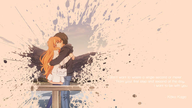 Golden Time - I Want to Be With You (Wallpaper)