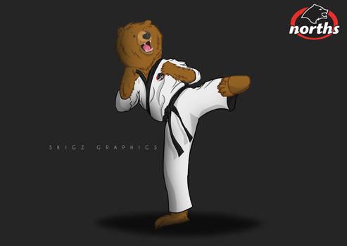 Karate Bear!