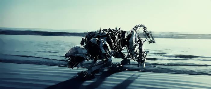 Transformers 2 - Ravage (Cartoon Style Edit)