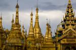 Shwedagon, Myanmar by DrDrum666