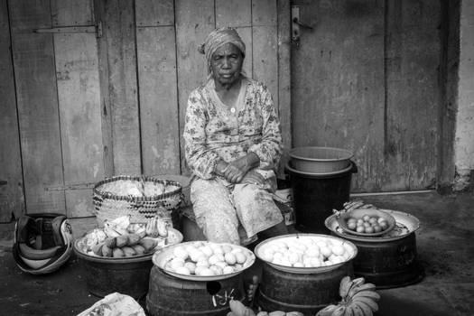 Indonesian market-woman