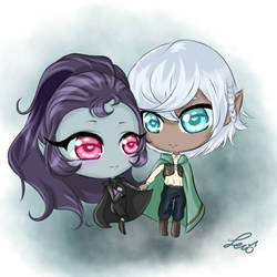 chibi commission  by lexiart32