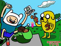 Hora de Inchworm!!