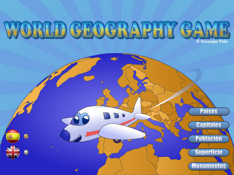 WorldGeographyGame Splash Screen