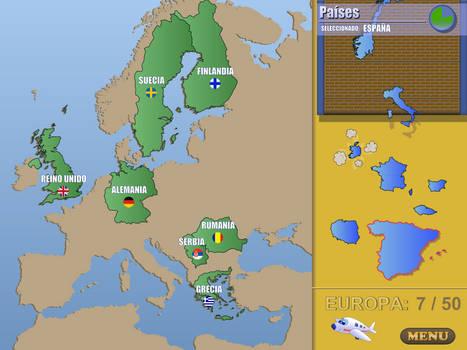 World Geography Game mockup #1