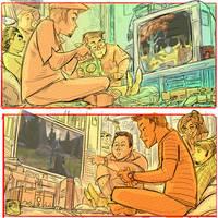 Allan Hancock Animation Hellhole / Calarts '01-'05