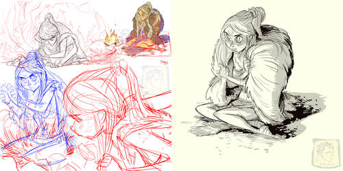 Khylov - Neanderthal Character Design Pages