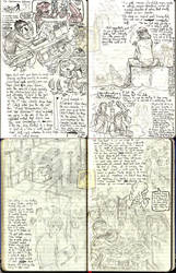 Khylov - Moleskine Sketchpages and Notes