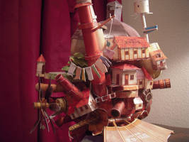 Howls Moving Castle Papercraft by thecontessina