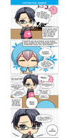 Seiyuu Danshi 4-KOMA manga example