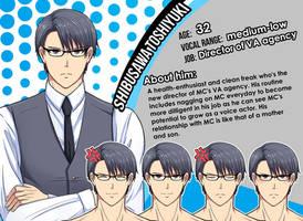 New Character Profile: Shibusawa Toshiyuki by meyaoigames