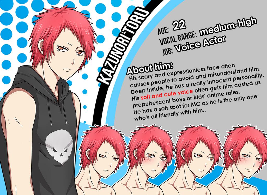 New Character Profile: Kazunori Toru by meyaoigames