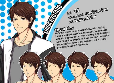 New Character Profile:  Shiba Ryotaro