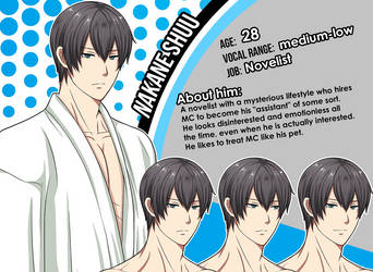 New Character Profile: Nakane Shuu by meyaoigames