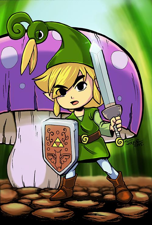 Link and Ezlo by joysuko