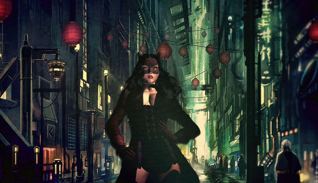 Catwoman Gotham By Gaslight Concept Art By 3davx On Deviantart