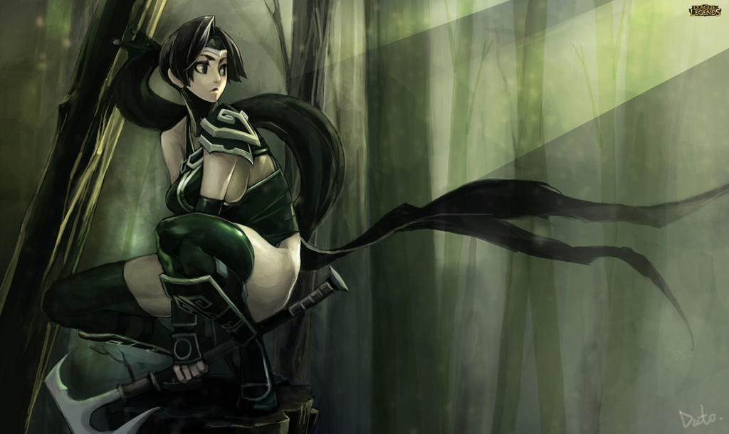 Classic Akali by dutomaster