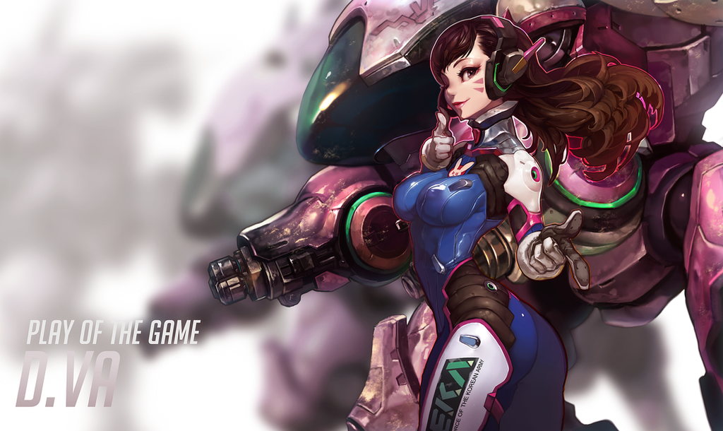 Overwatch~ D.VA by dutomaster
