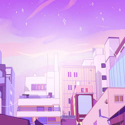 cityscape / dreamscape by VintageCandyShop