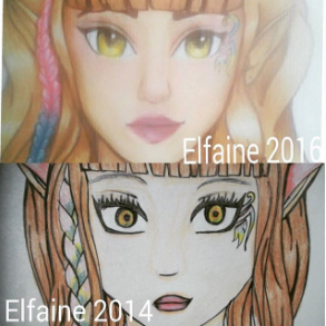 Elfaine OC Redraw by Misticbeauty