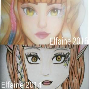 Elfaine OC Redraw by Misticbeauty