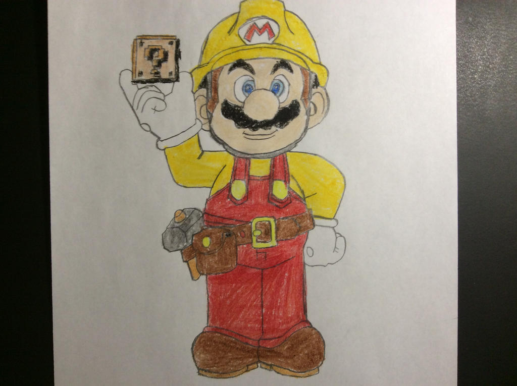My drawing of Super Mario Maker by SplatCrosser on DeviantArt