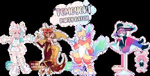 Tomoyoki Party Batch Flat Sale - CLOSED