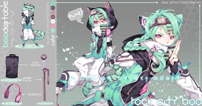 [CLOSED TY]Rock City Boo! by skfuu