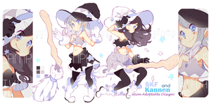 [CLOSED TY]Setprice_Twin STAR witch_collab adopt