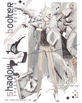 [closed ty!] OTA Shadow booker 18_silver wings