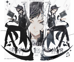 [CLOSED TY] Shadow booker 19_Dark angel by skfuu