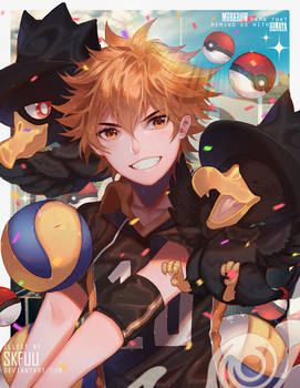 PKMN that remind us with HINATA by skfuu