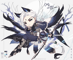 [closed ty!] CHILD OF THE FALL_Azure Phoenix