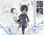 [CLOSED TY] LianHua - the lake knight_Heby x SKF!