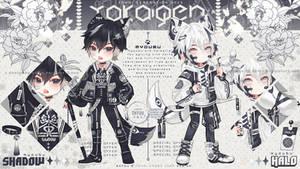 [CLOSED TY!] YOKAIGEN Myoubu Shadow and Halo