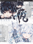 [CLOSED TY!] Tiger God_TOP collab skfuu x heby!