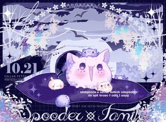 [OPEN] Spooder family_Melloween Petto!
