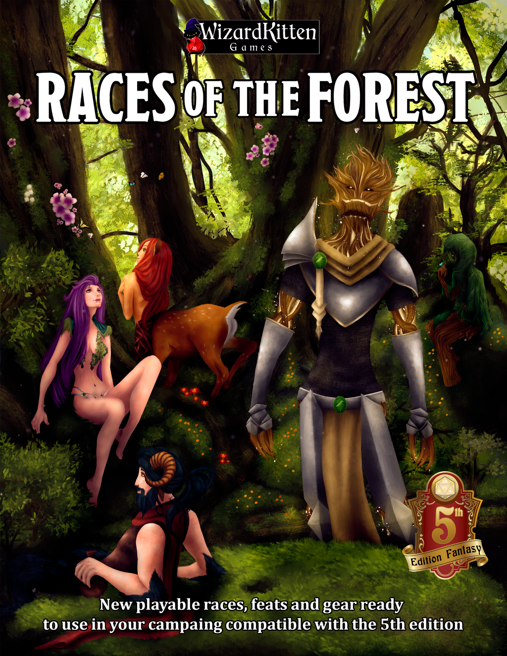 Races of the Forest Book