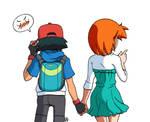 Ash e Misty - Camminata lato B