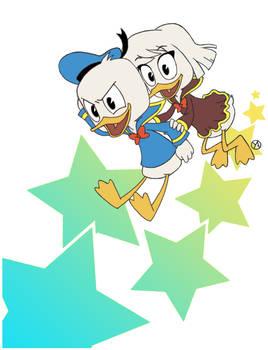 Donald and Della - stars