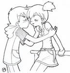 Ash and Misty - Kiss?