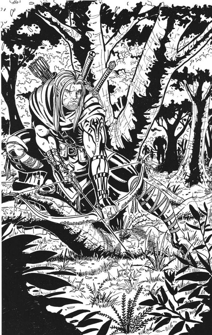 Elf Ranger by RodneyCJacobsen