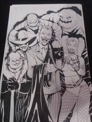Bat baddies by RodneyCJacobsen