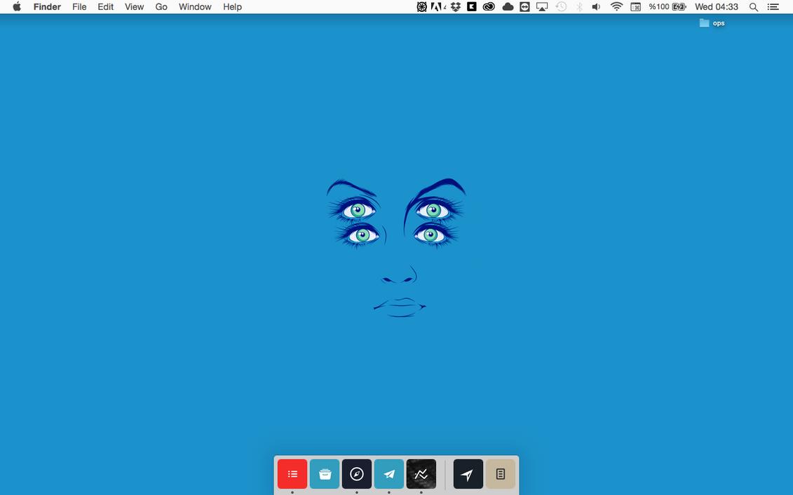 Blue. by turkerinanmaz