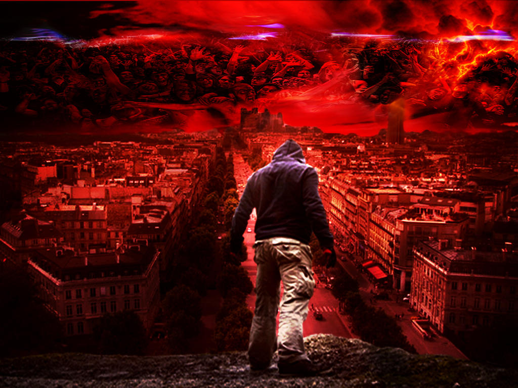 wallpaper apocalypse zombie