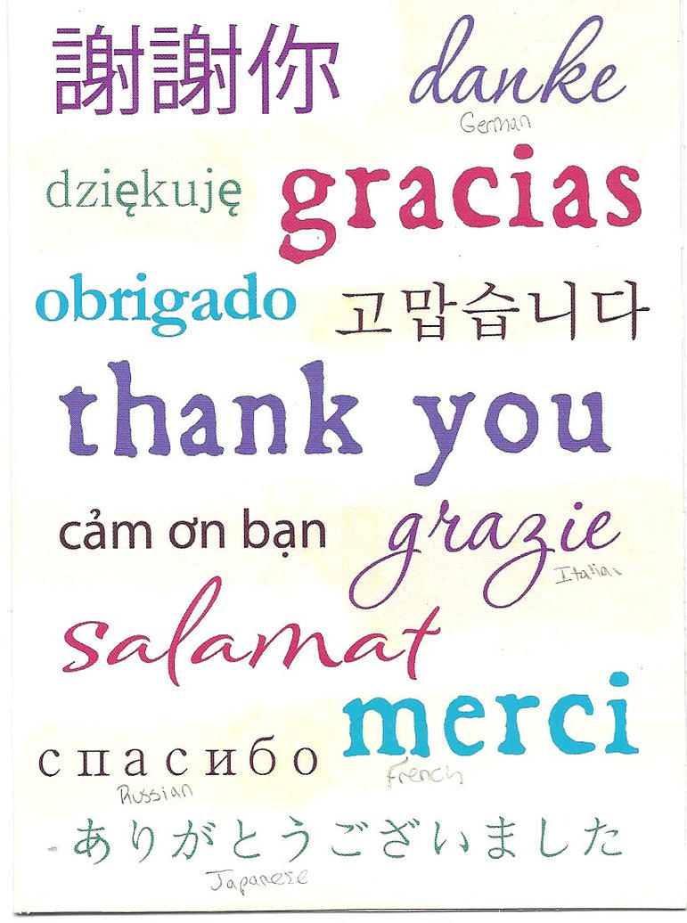 how to say thank you very much in korean language