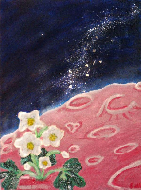 Moon Flower by Selenere
