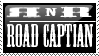Club Road Captian Stamp by RockNRollers