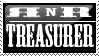 Club Treasurer Stamp by RockNRollers