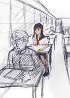 :req: Wasurenagusa's Akiko [day 6 sketch] by fuicchi-nee